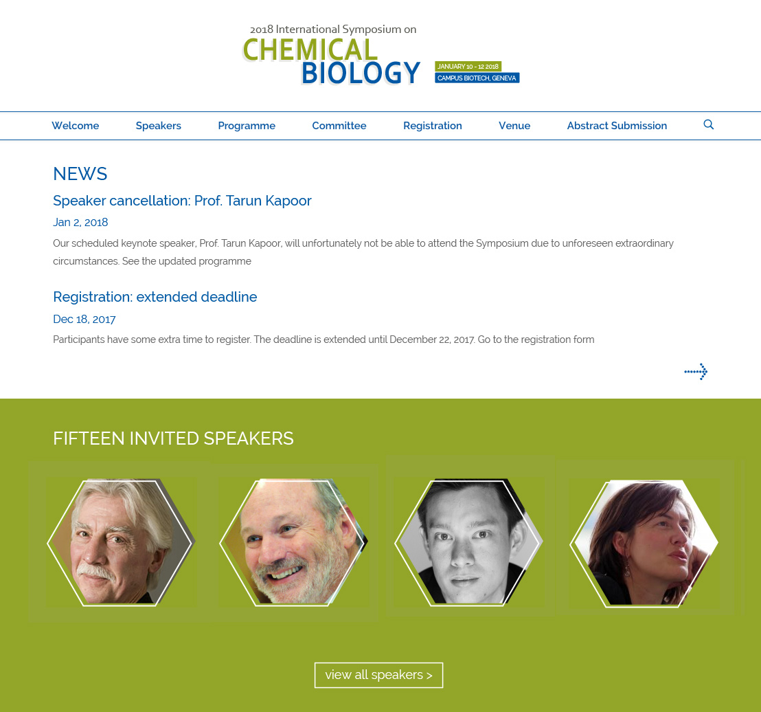 Symposium on Chemical Biology - project image 2